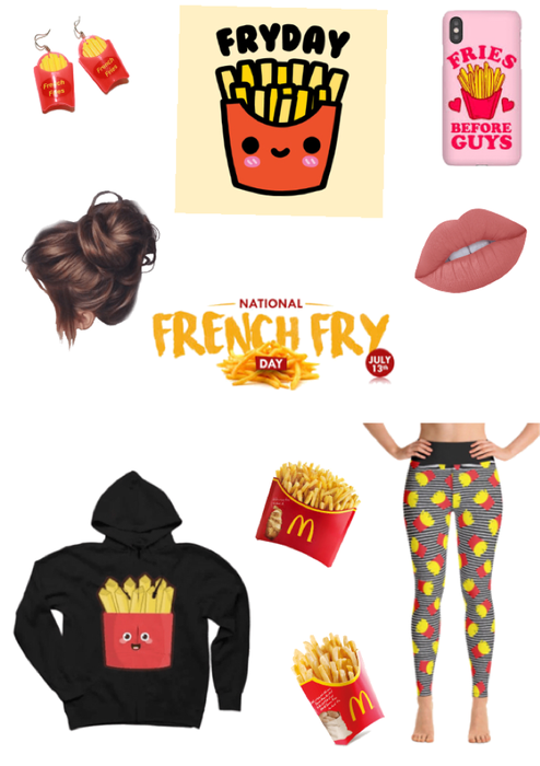 French fries day!!!