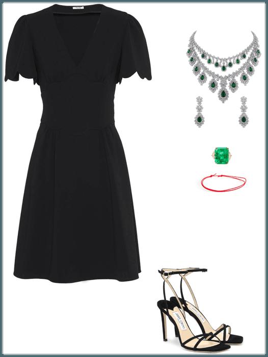 The sexy black dress