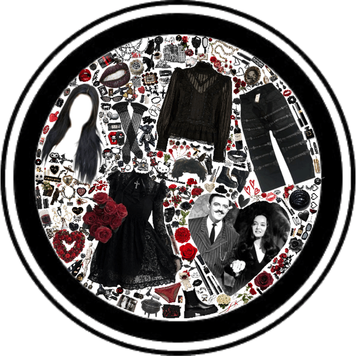 my absolute fav tv couple!! morticia and gomez!!