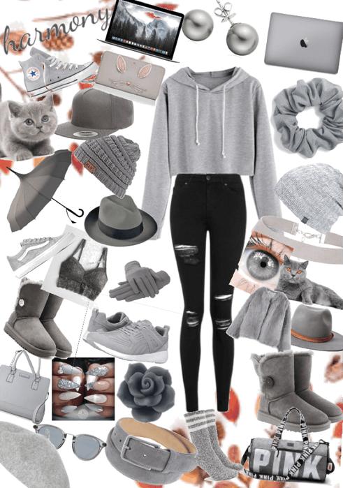 grey/autumn 💋