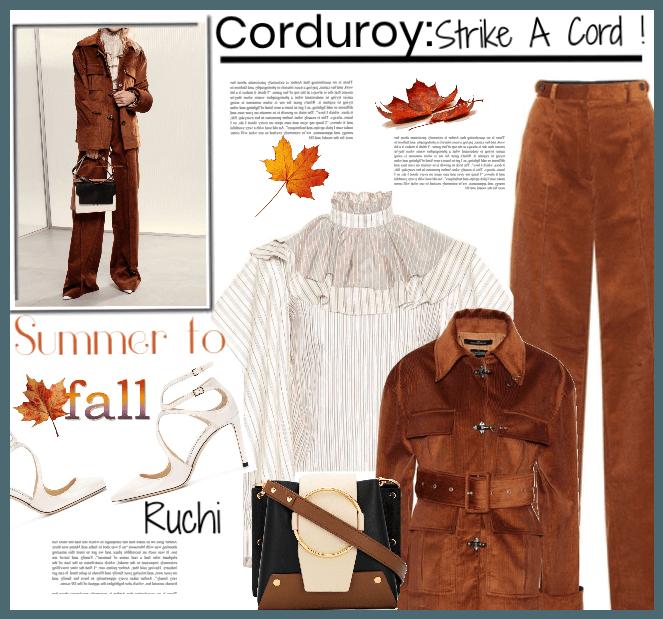 Corduroy: Strike a cord!