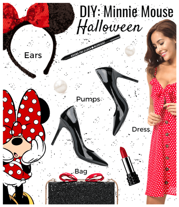 DIY Costume ; Minnie Mouse