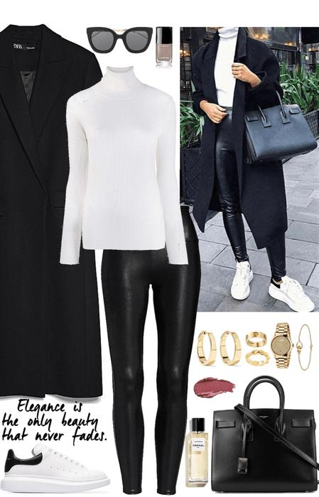 black,elegance,stately look