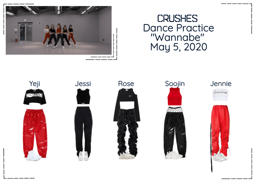 "Crushes (호감) ""Wannabe"" Dance Practice"