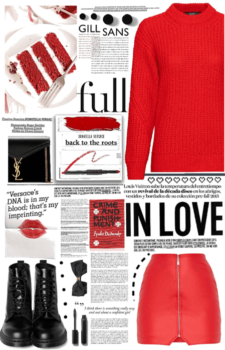 flirty red.