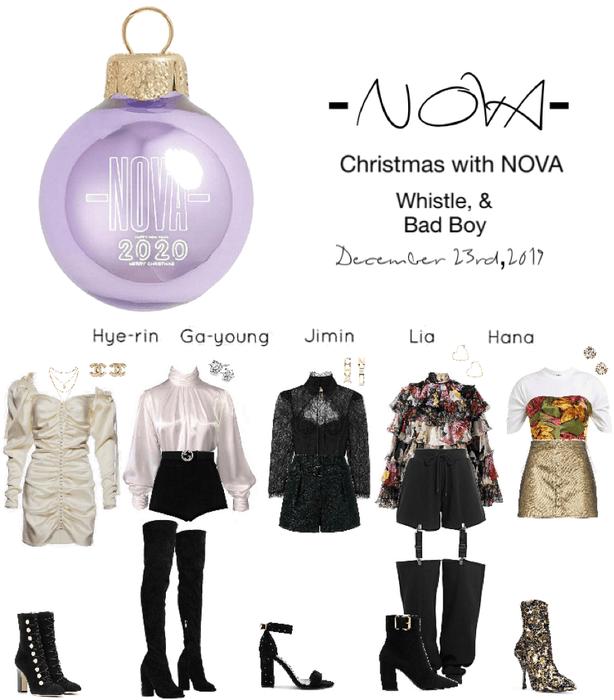 -NOVA- Christmas with NOVA- Whistle & Bad Boy