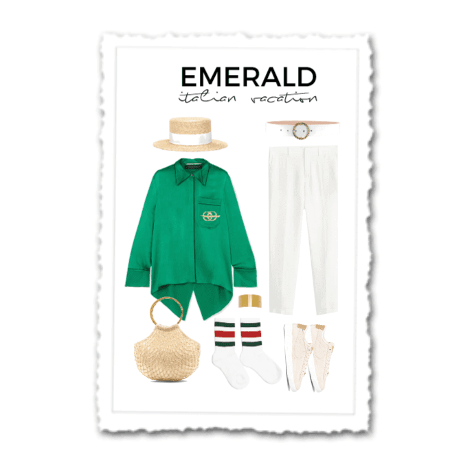 Emerald italian vacation