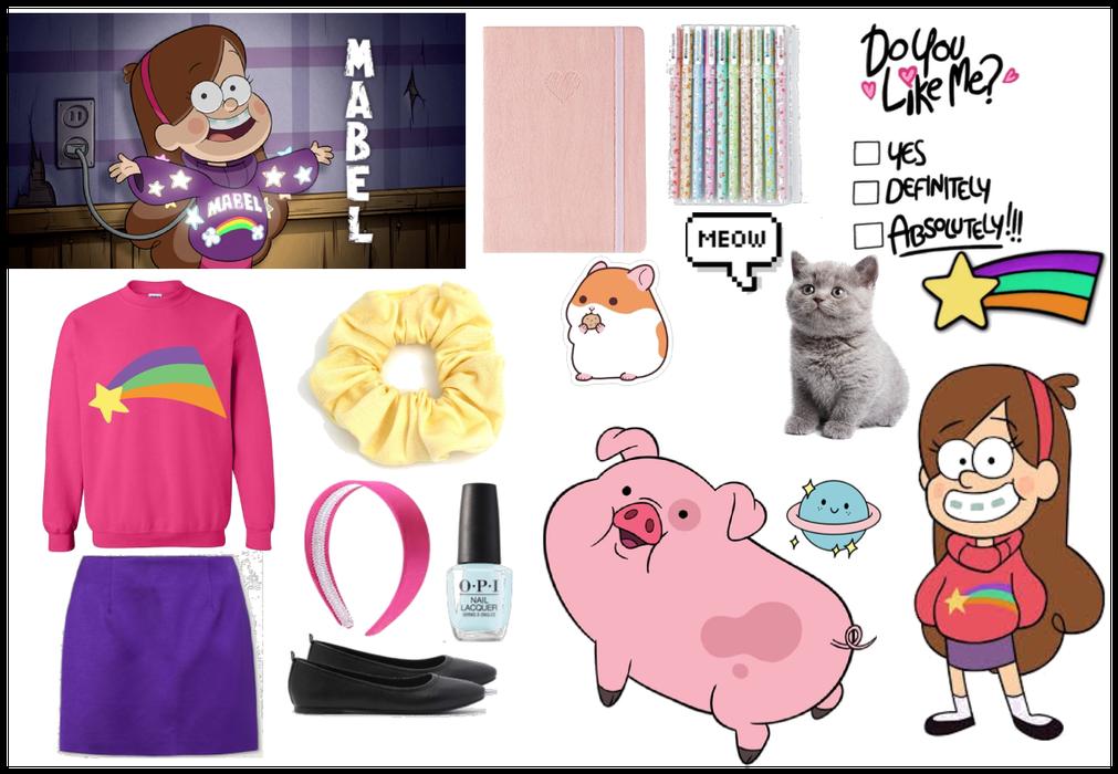 Mabel Pines character Gravity Falls