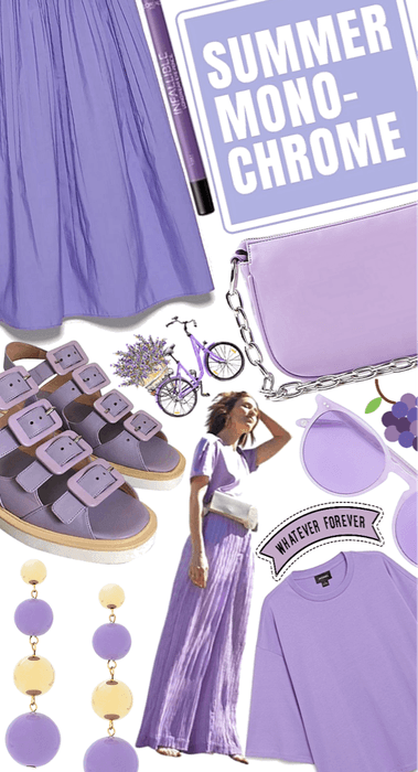 Layers of lilac
