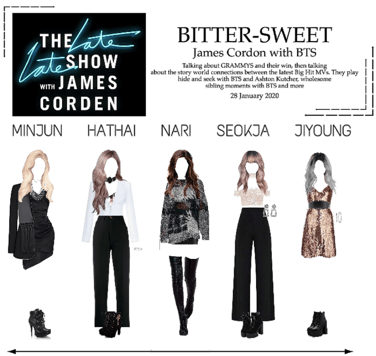 BITTER-SWEET [비터스윗] The Late Late Show 200128