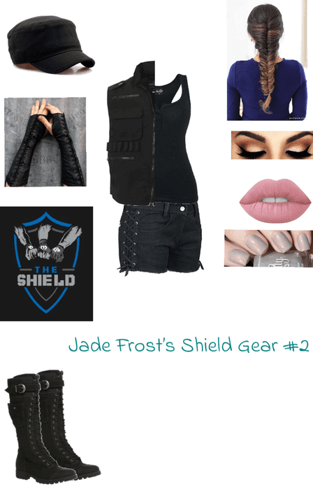 WWE Jade Frost's Shield Outfit #2