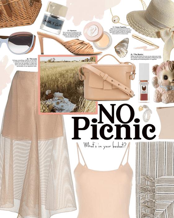 even a picnic can be ... no picnic 😉