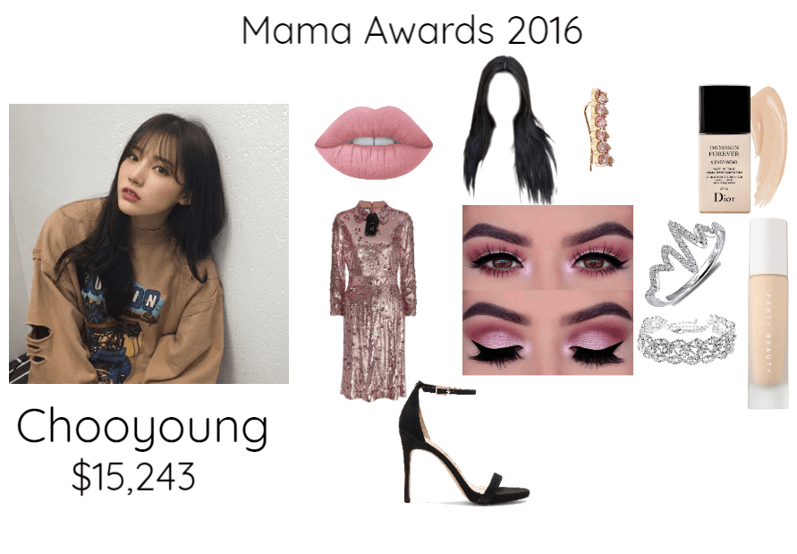 Mama Awards 2016 Chooyoung
