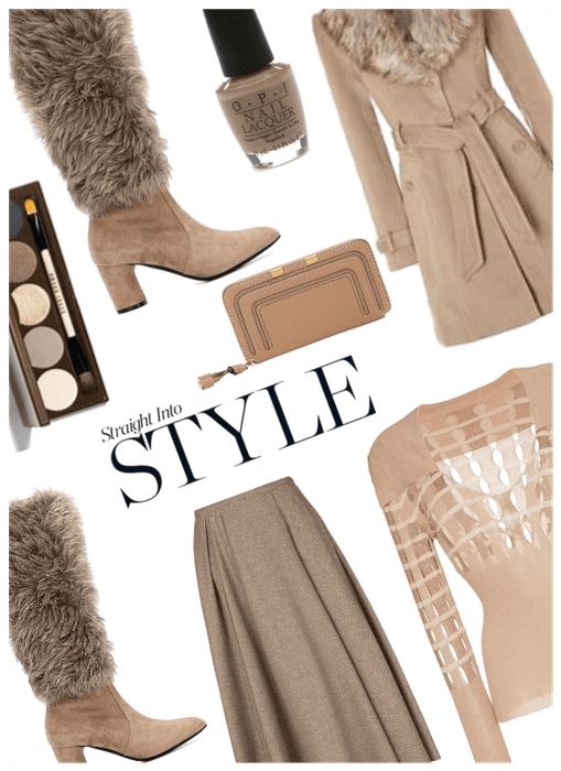Straight into style: Faux Fur