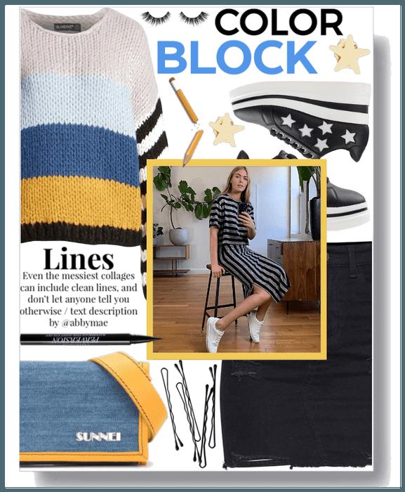 Color block III.