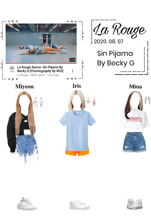La Rouge Dance- Sin Pijama by Becky G (Choreography by IRIS) 2020. 08. 07