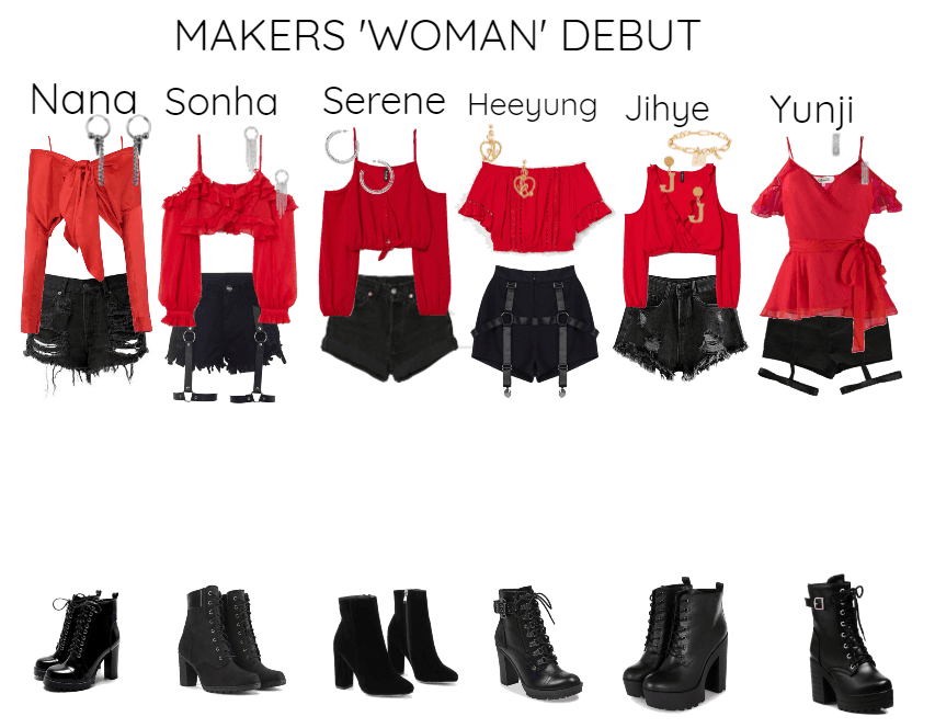 MAKERS 'WOMAN' Debut MV + STAGE
