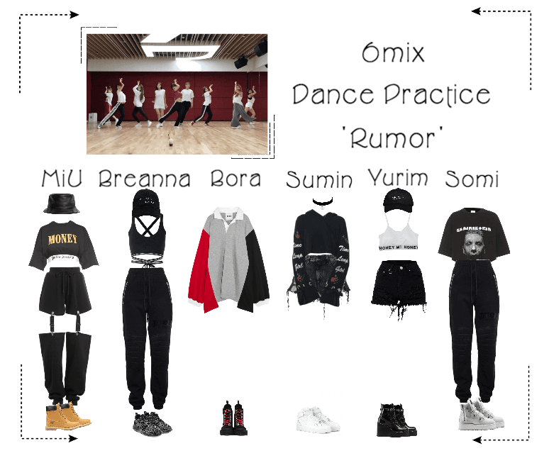 《6mix》'Rumor' Dance Practice