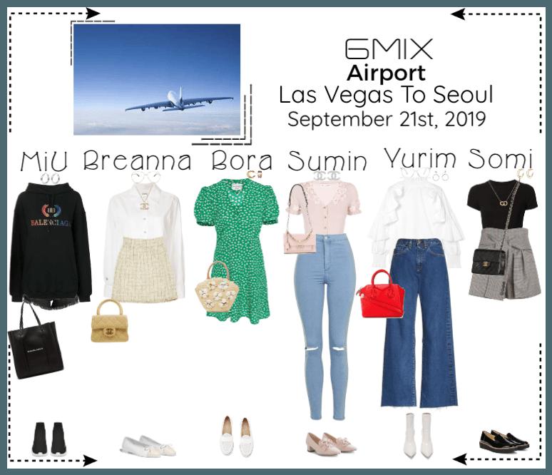 《6mix》Airport | Las Vegas To Seoul