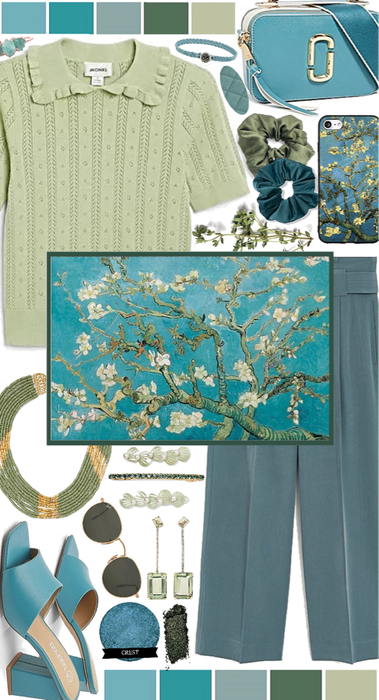 Painting Inspired: Almond Blossoms