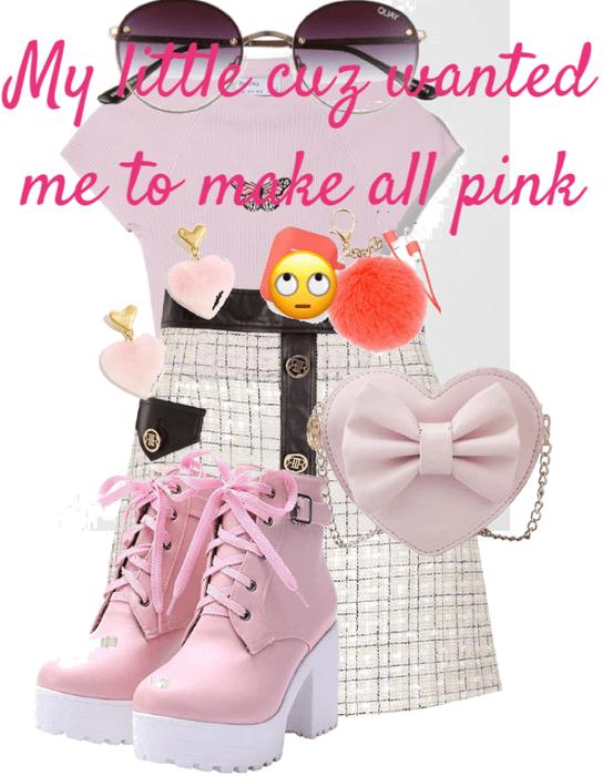 my cuz want pink🙄