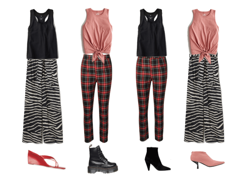 Plaid and Zebra, Mix&Match
