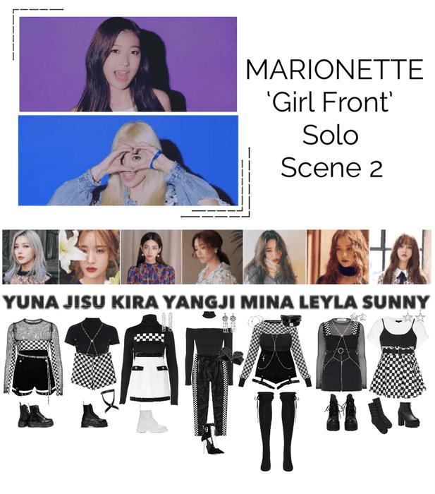 {MARIONETTE} 'Girl Front' M/V Solo Scene 2