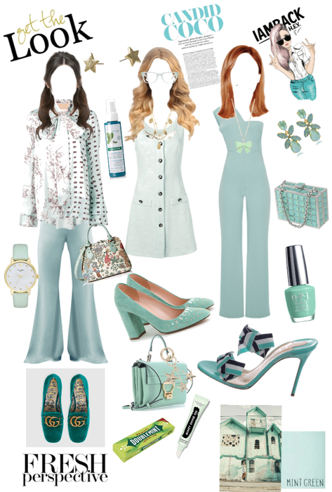 3 minty fresh outfits 👸xox