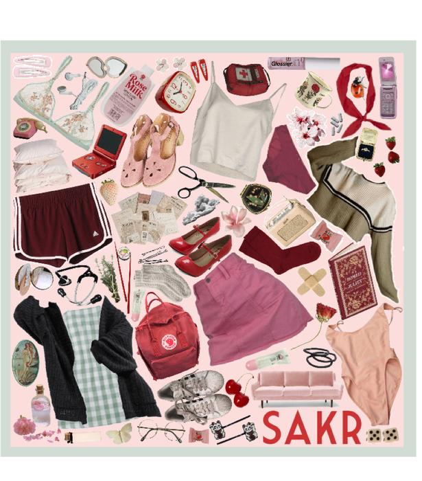 Sakura Haruno Moodboard