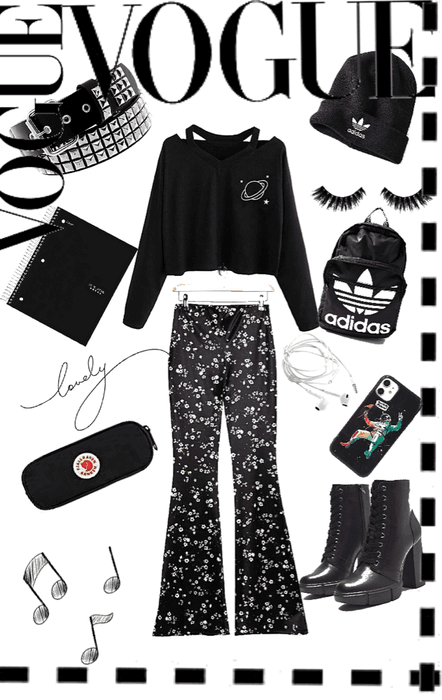 !!!Back to School outfit!!! #AesthithecBlack #BacktoSchooloutfit