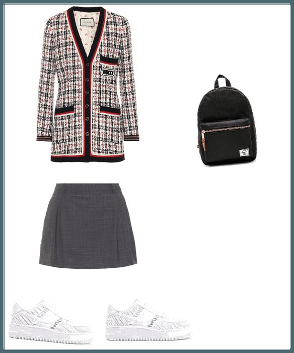 Fanfic school uniform