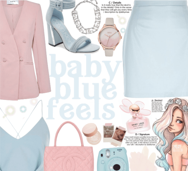 Baby blue feels  Muted Pastels