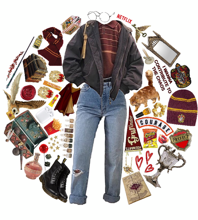 Gryffindor // scb hp spirit week