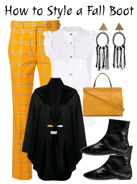 How to Style a Fall Boot