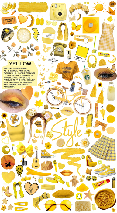 Shades of Yellow ✨💛