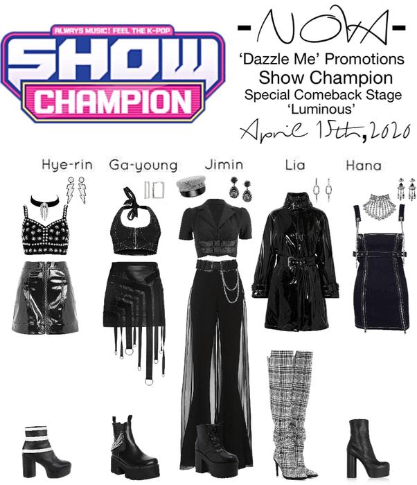 -NOVA- 'Dazzle Me' Show Champion Stage