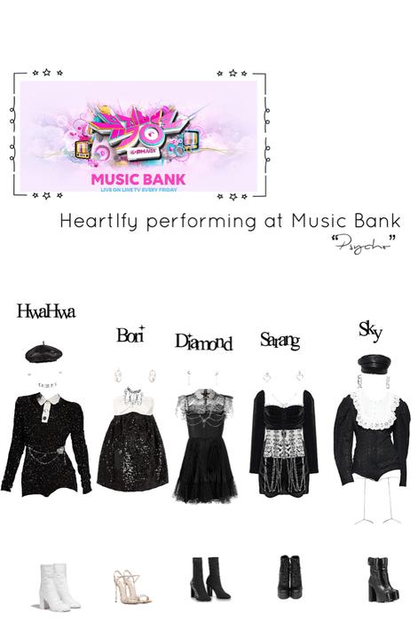 "Heartfly [하트플라이요] Music Bank performance ""Psycho"""