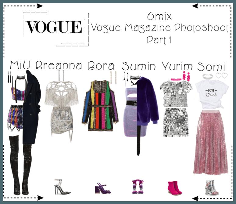 《6mix》Vogue Magazine Photoshoot (Part 1)