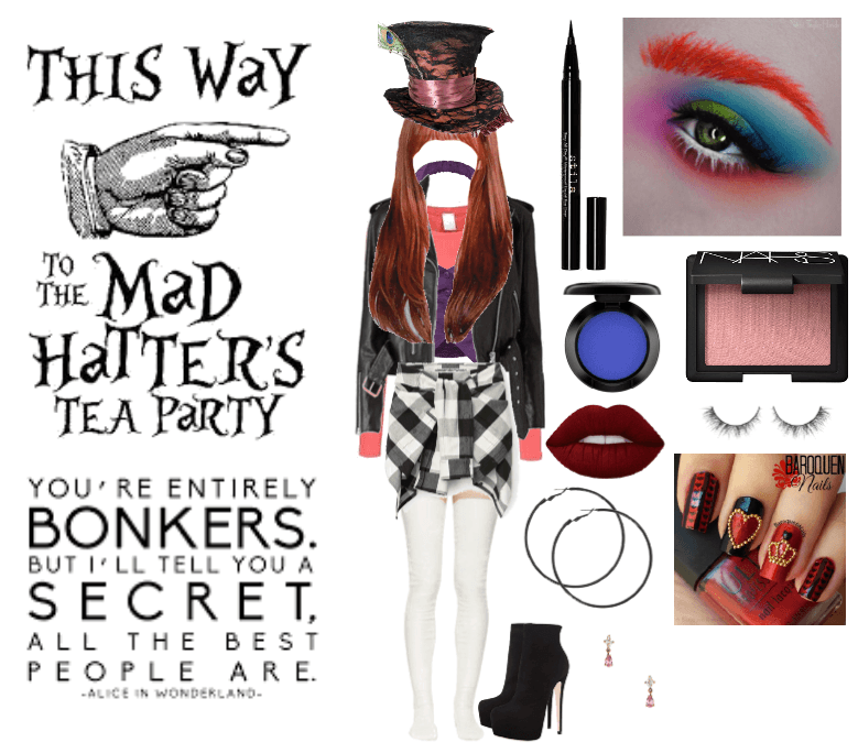 A Mad Hatter Halloween