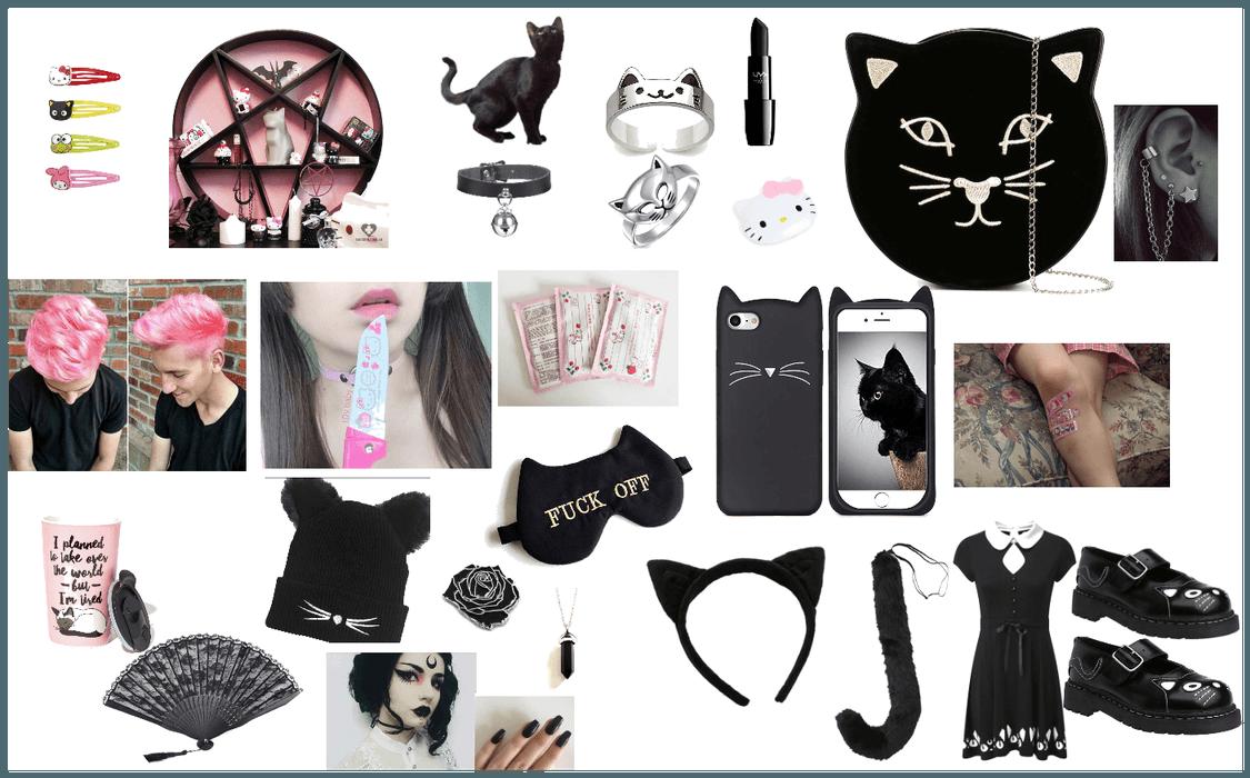 Gothic Kitty