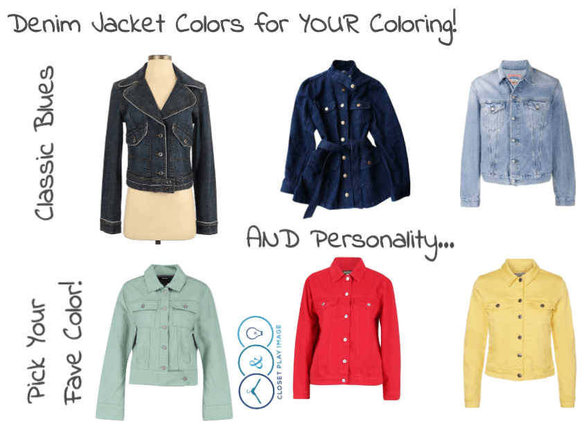 Denim Jackets for Your Coloring