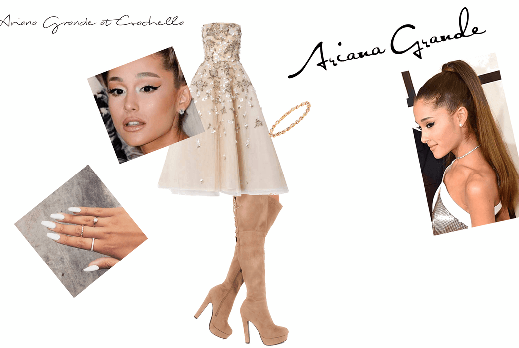 \what I  think Ariana Grande is going to wear at Coachella