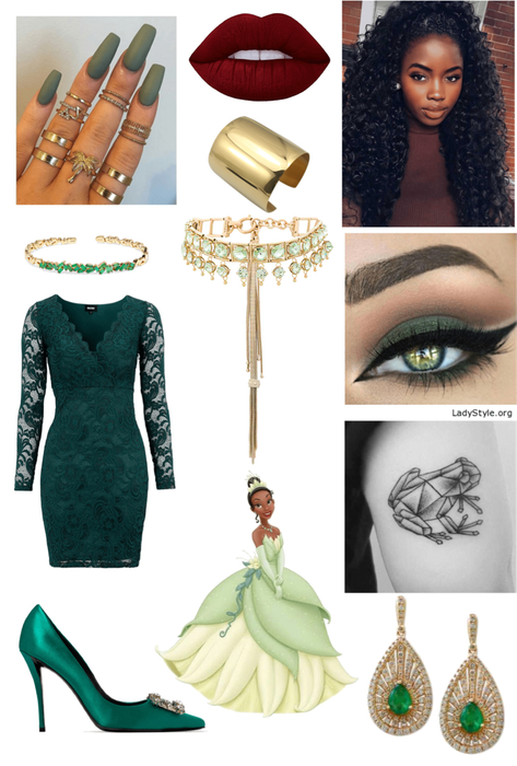 Tiana (Princess and the Frog) Outfit