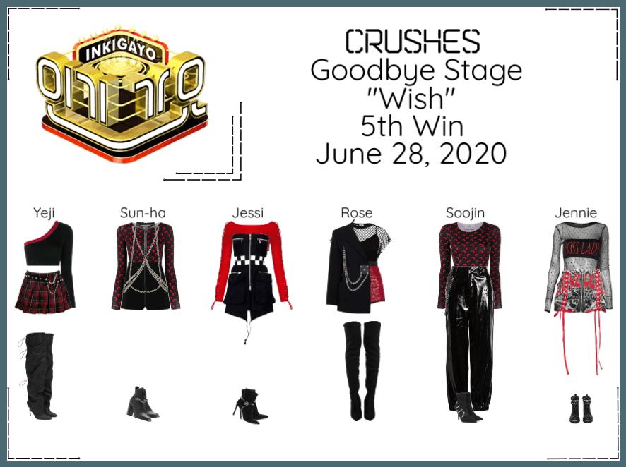 "Crushes (호감) ""소원 (Wish)"" Goodbye Stage 5th Win"