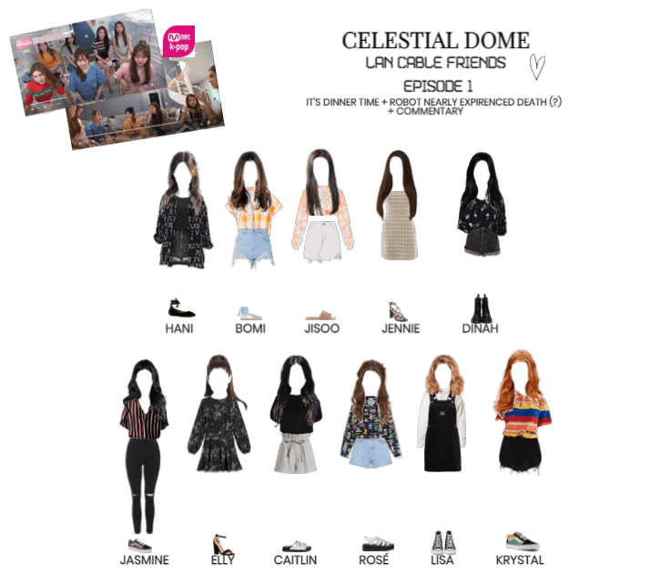 [CELESTIAL DOME] LAN CABLE FRIENDS EP.1