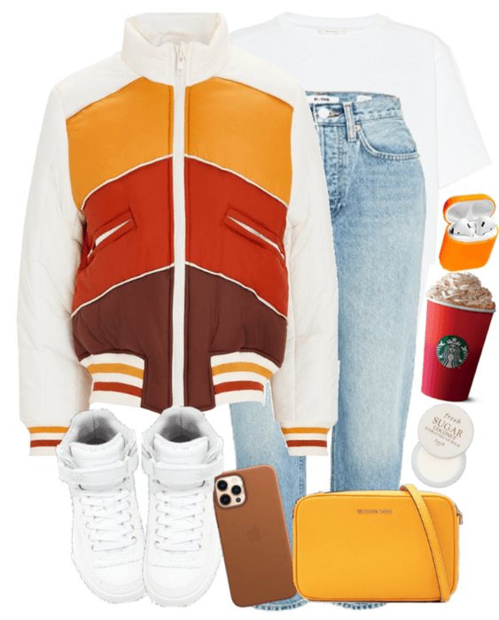 sporty spring look