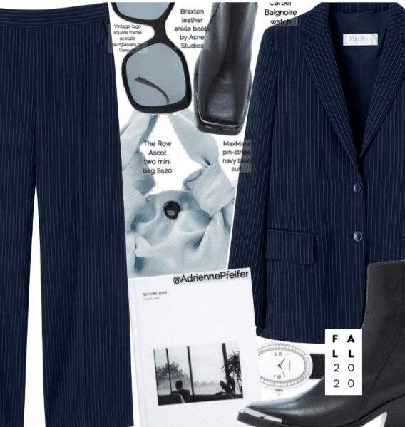 Fall Trends 2020: Pinstripe Suit 🖤