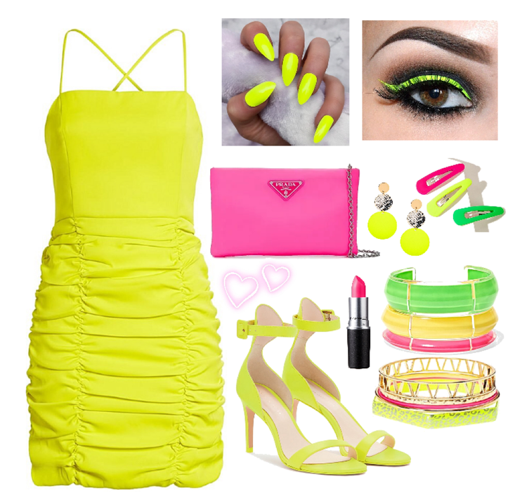 Dressed in Neon