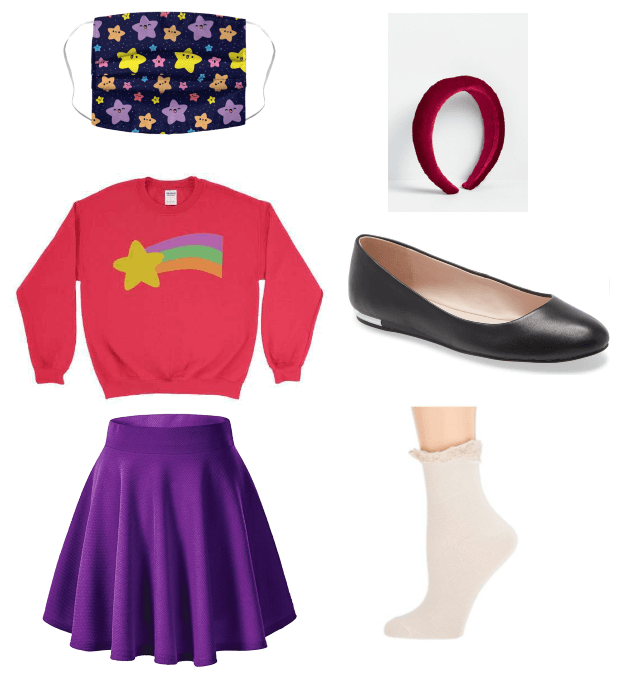 Mabel Pines Face Mask Outfit