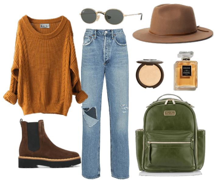Olive Mini Outfit